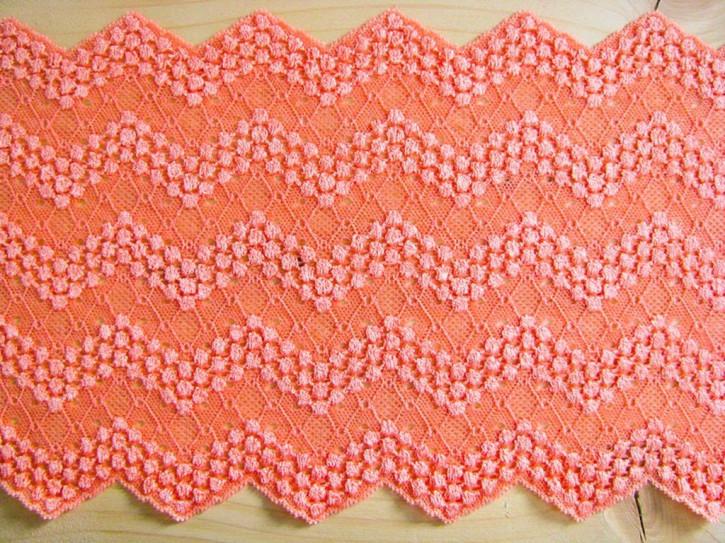 1m elastische Spitze in pfirsich Fb0135