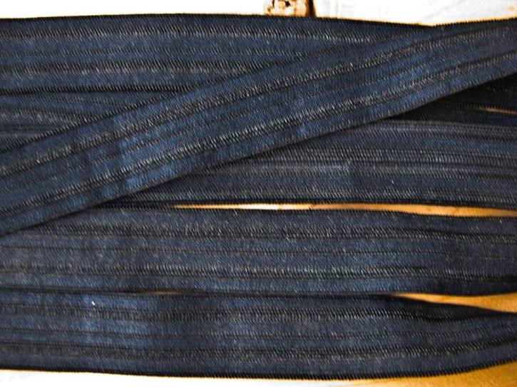 6m Falzgummi in abend-blau Fb0810