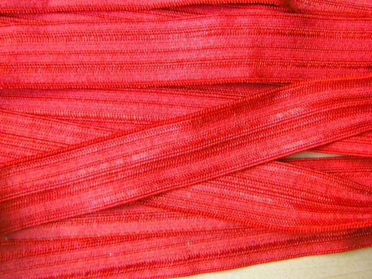6m Falzgummi in kräftigem ziegel-rot Fb0508