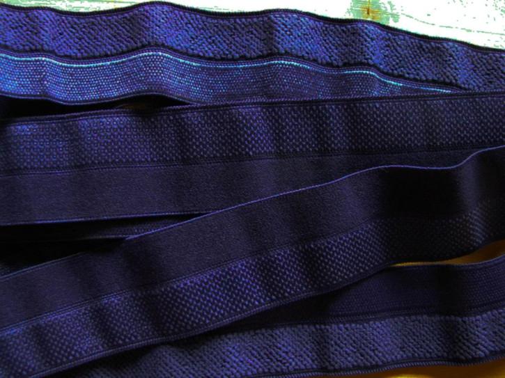 6m Falzgummi in rojal-blau/Flausch Fb0016 - 20mm