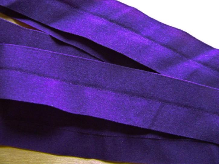 6m Falzgummi/Einfassgummi in violett Fb0046 - 25mm