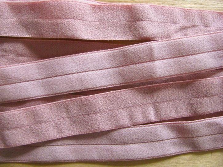 6m Falzgummi in altrosa/puder-rosa Fb0867 -samtig