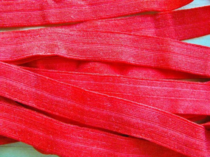6m Falzgummi in hot-rot/rojal Fb0503