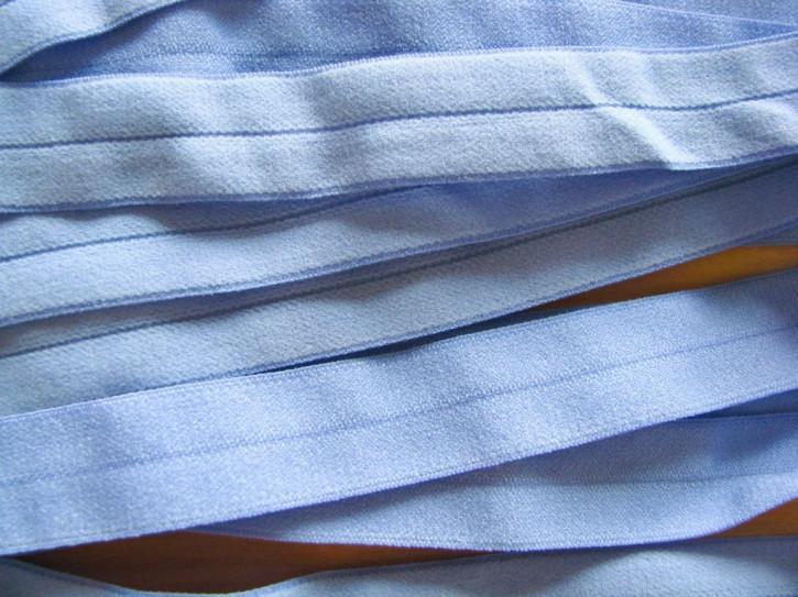 6m Falzgummi in kräftigem puder-blau Fb1464 - samtig