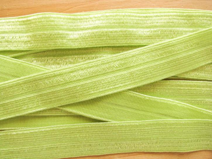 6m Falzgummi in apfel-grün/lime Fb0096