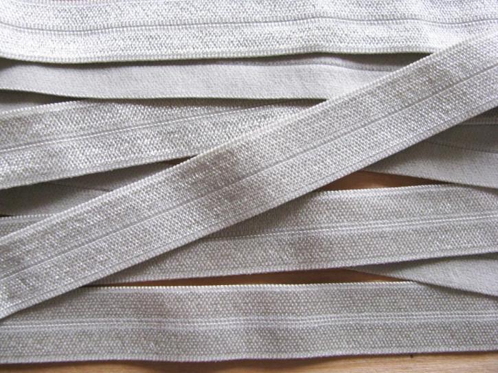 6m Falzgummi/Faltgummi in d.perl-grau Fb0331