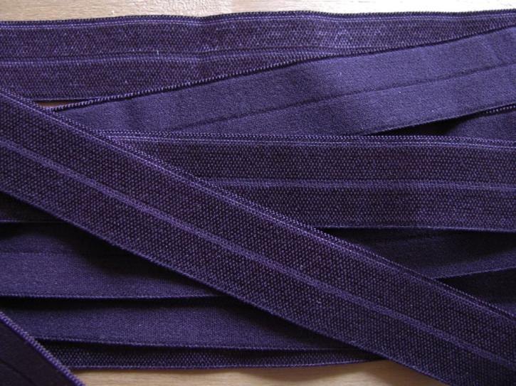 6m Falzgummi in dunklem lila Fb0578