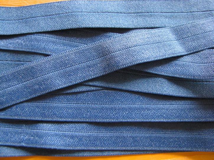 6m Falzgummi in neptun-blau Fb0816