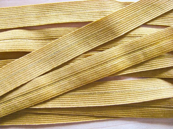 6m Falzgummi in gold-lack/senf Fb1130