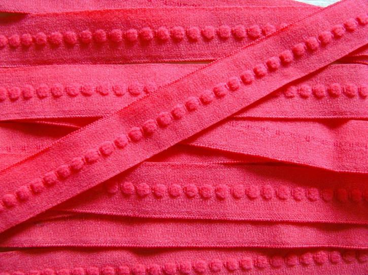 6m Schmuck-Falzgummi in renoir-rot Fb1391