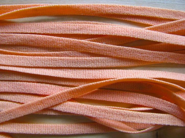15m zartes Wäscheband in hellem orange Fb1334