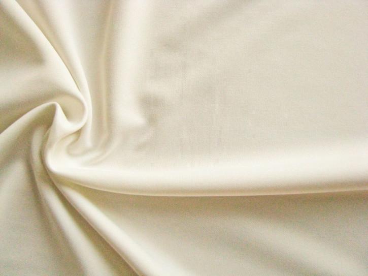 1m hochwertiges Wirkfutter in ivory/ecru Fb1451 (Bademode)