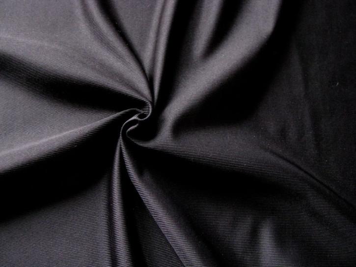 1m Futter-Stoff- Simplex geschliffen - in schwarz Fb4000