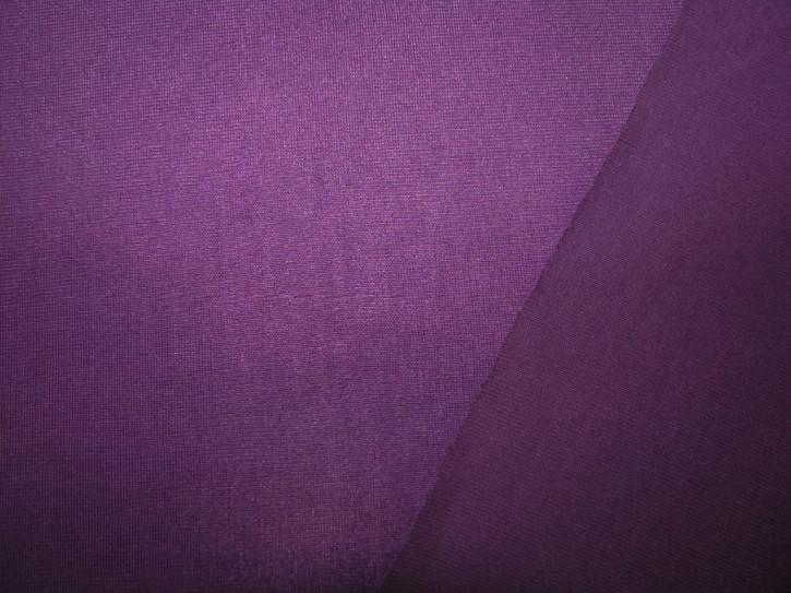 Cotton-PES-Wirkware in veilchen-lila Fb0046