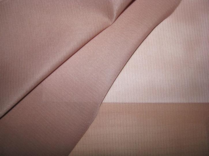 1m hochwertiger Wäschestoff in rauchigem rosenholz Fb0282