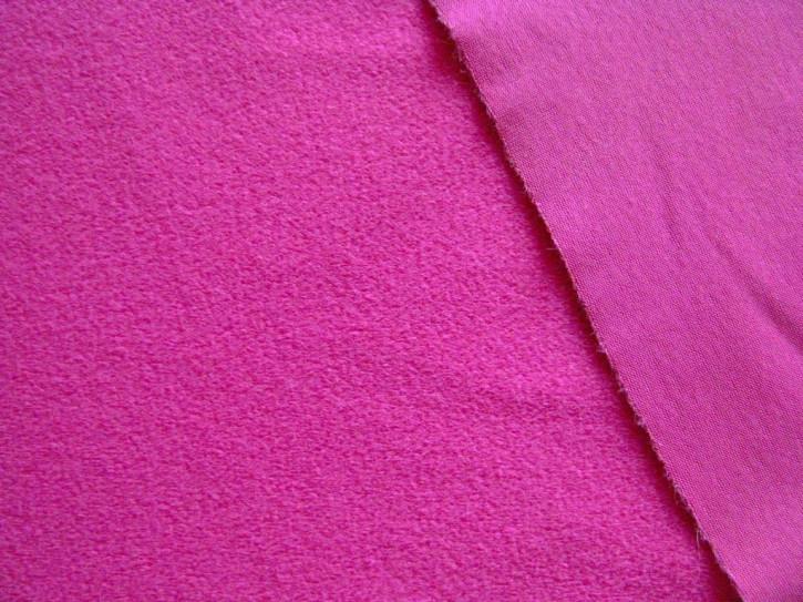1m Flausch-Wirkfutter-Stoff in purple/magenta Fb1059