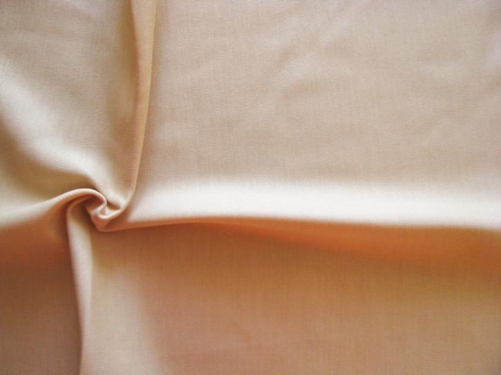 1m bi-elastischer Wäschestoff/Futterstoff in skin/pudrige hautfarbe Fb0097