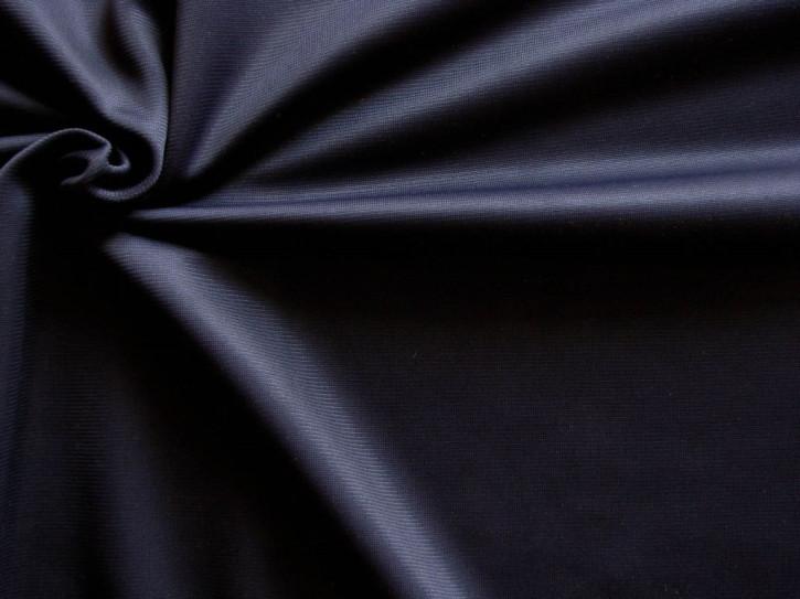 1m quer-elast. Cotton-PES-Wirkware in abend-blau Fb0810