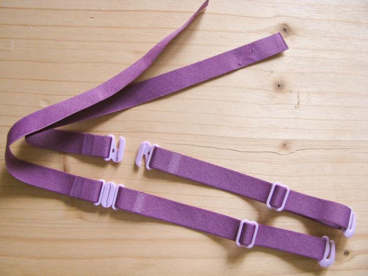 1 Paar Multifunktions-Träger in rot-violett/Richtung zyklame Fb1062