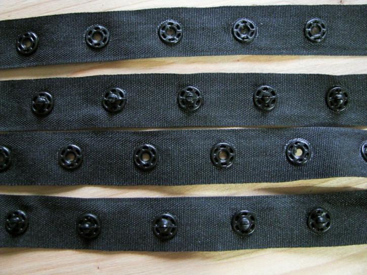 1Set/1m Body-Verschluss-Band in schwarz Fb4000