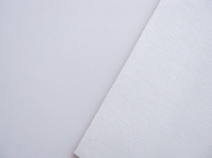 1m Schaumstoff/Laminat für BH`s rein-weiß Fb2000