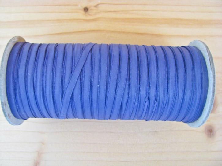 200m/1 Rolle Schleifchen-/Dekoband in jeans-blau Fb1467