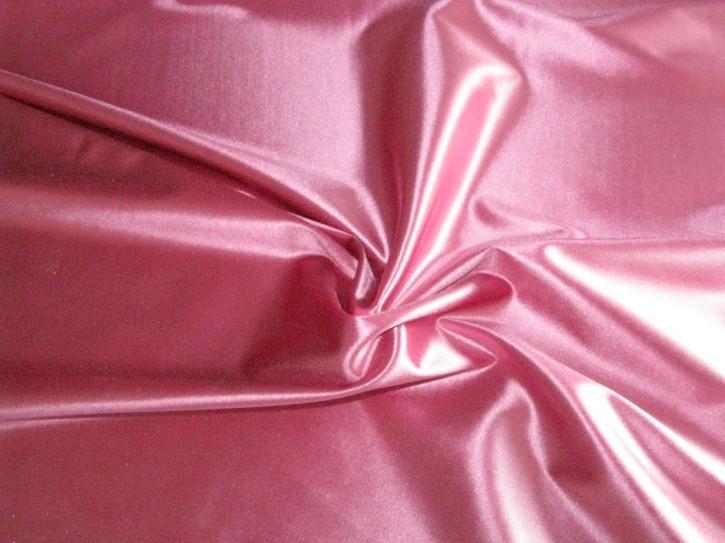 elastischer Glanz-Microfaser in pinkigem flamingo