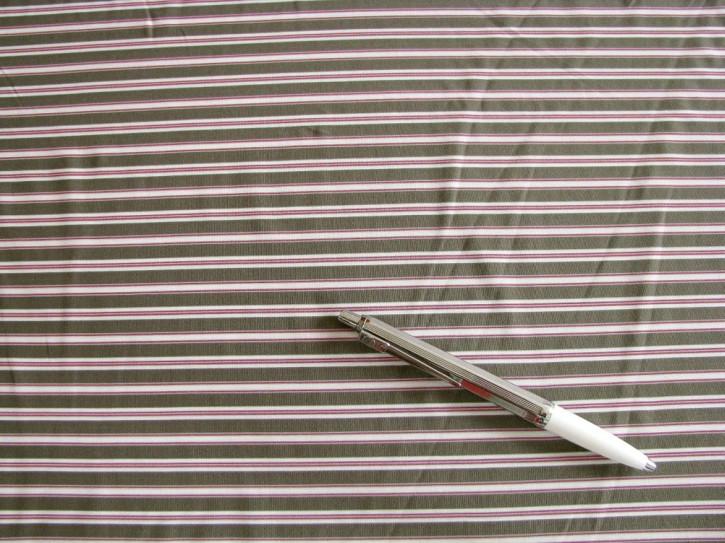 Bi-elastischer Lycra im Streifen-Look, khaki Fb1162...