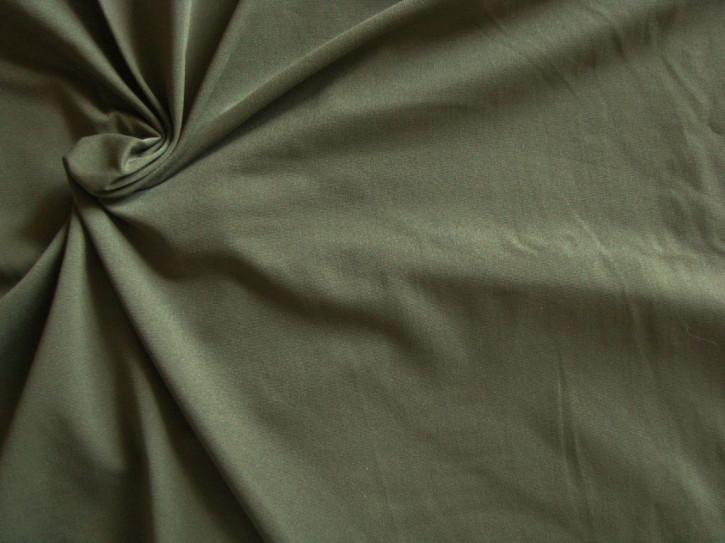 1m bi-elastische Microfaser in khaki/navy-grün Fb1162
