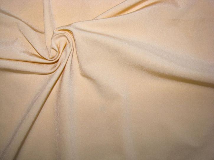 """Microfaser """"Eurojersey"""" aus Italien in glänzender, goldiger hautfarbe Fb1163"""