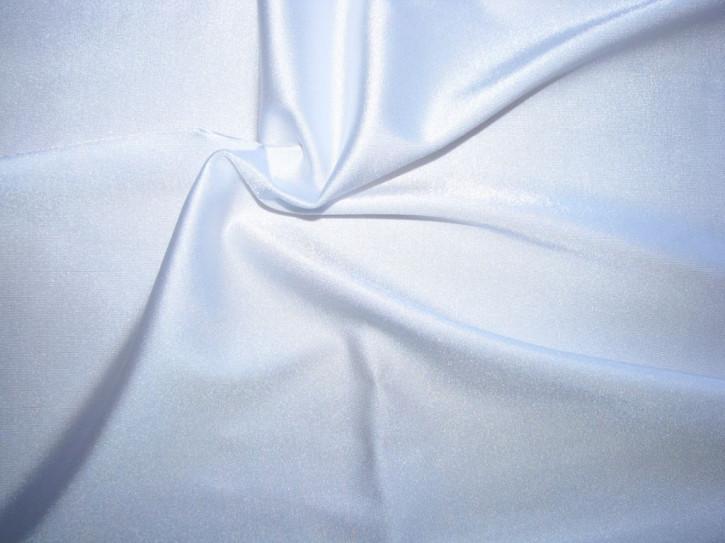 1m bi-elastische Microfaser in rein-weiß Fb2000 (S)