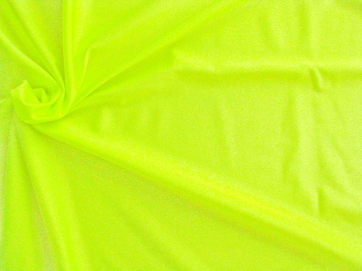 1m bi-elastische Microfaser in leuchtendem neon-gelb Fb0113 (S)