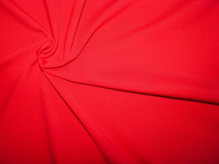 1m Bi-elastische Microfaser in rojal-rot/blut-rot Fb0504