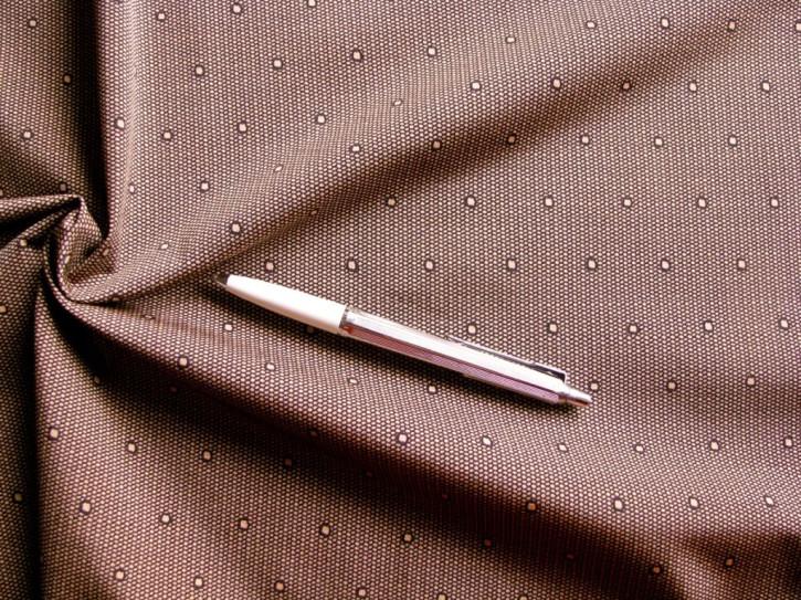 """1m kräftiger, bi-elastsicher Miederstoff/Strapsgürtel in make-up """"Pünktchen-Netz"""""""
