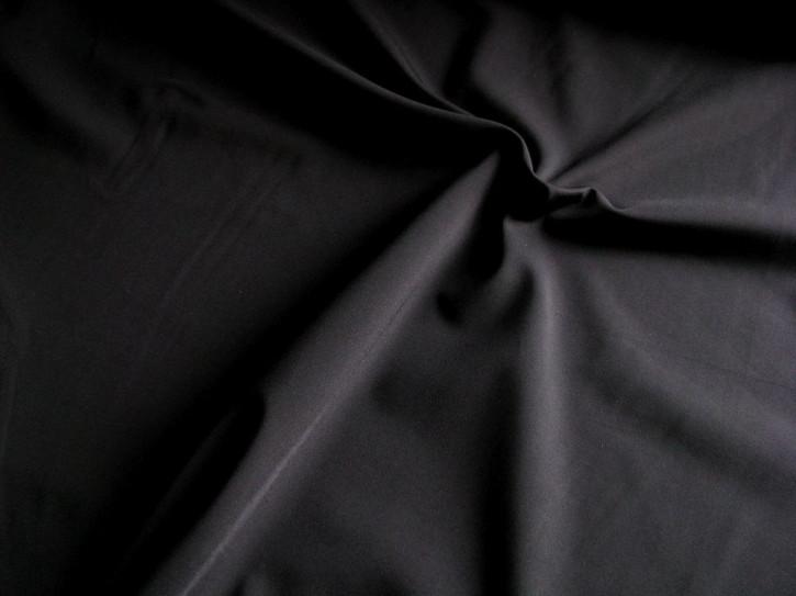 1m bi-elastische Microfaser in schwarz Fb4000 seidenmatt