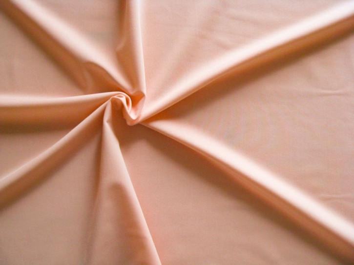 1m Bi-elastische Soft-Microfaser in pastell-pfirsich Fb0076