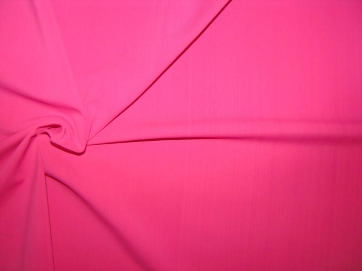 1m bi-elastische Microfaser in leuchtendem pink Fb1423