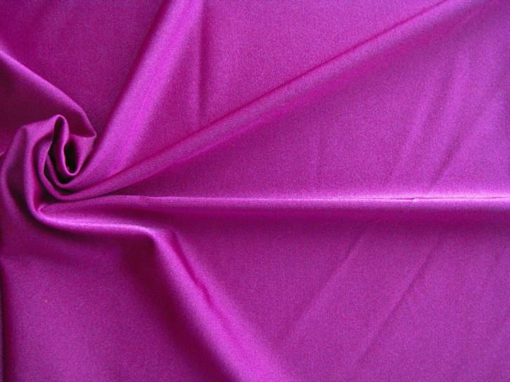 1m bi-elastische Microfaser in kräftigem magenta Fb1062 - glänzend (S)
