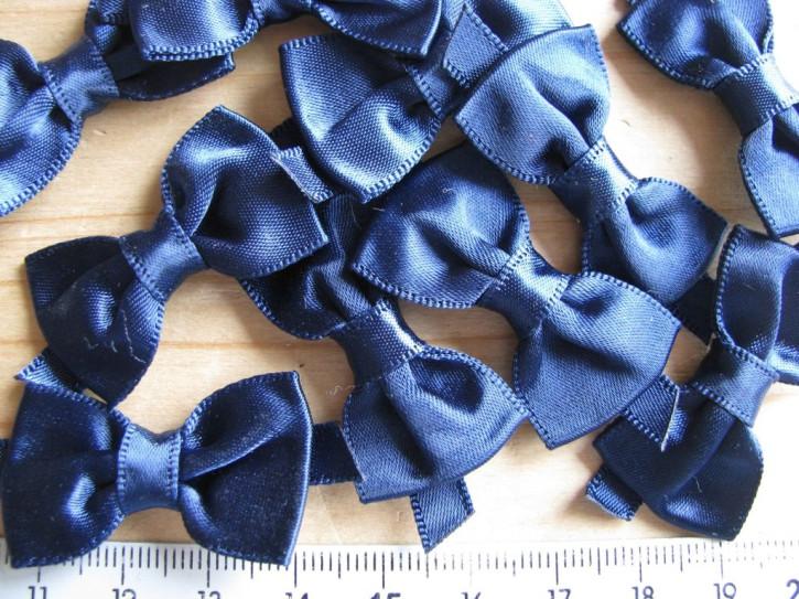 4 Schleifchen in nautic-blau Fb1465