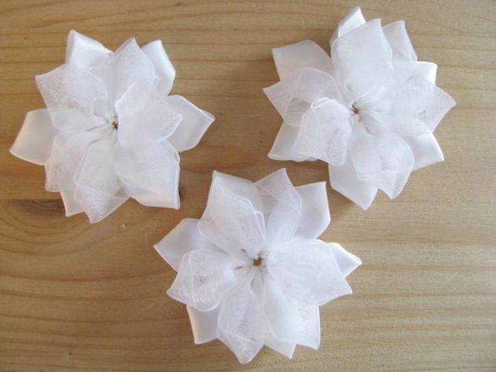 1 Stk. XL-Blume in rein-weiß Fb2000 Hochzeit