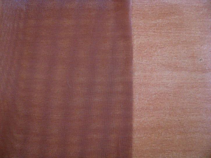1m Charmeuse unelastisch in dunklem rosenholz Fb029