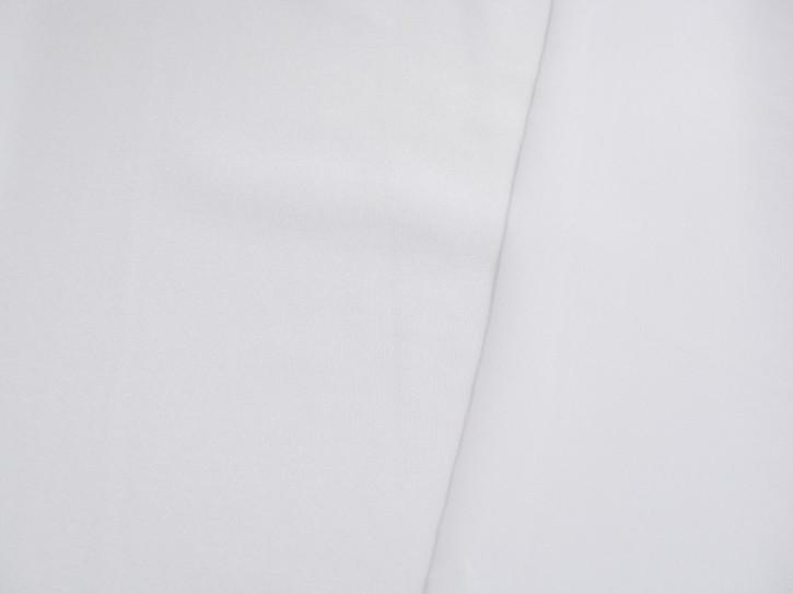 1m Bi-elastischer Strapsgürtelstoff in rein-weiß Fb2000