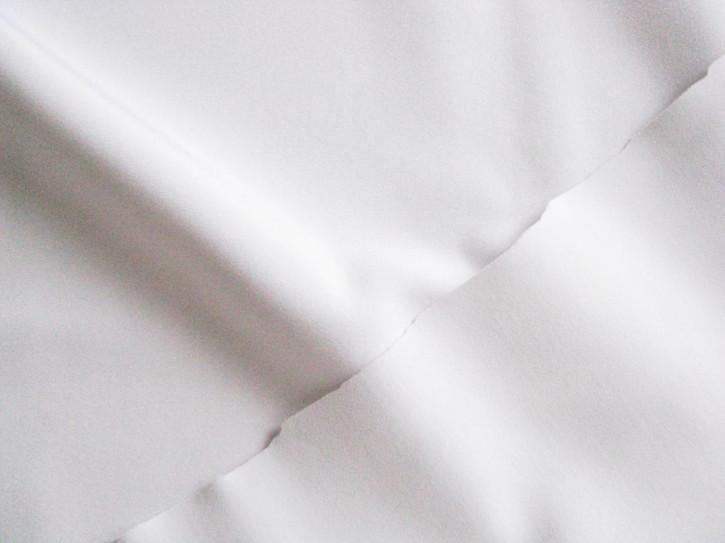 1m bi-elastischer, doppellagiger, Miederstoff in rein-weiß Fb2000