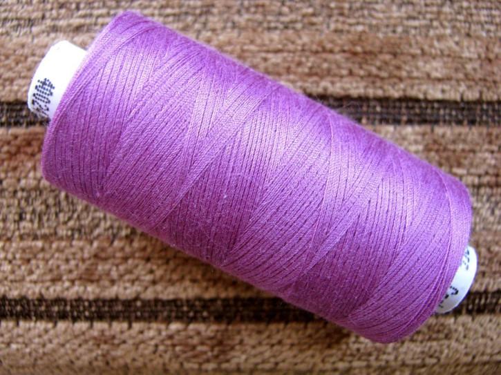 1 Spule Nähgarn in rot-violett Fb1062