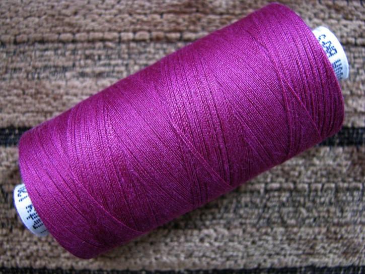 1 Spule Nähgarn in brombeer Fb0157