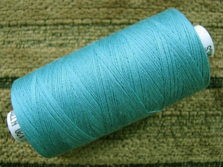 1 Spule Nähgarn in h. blau-grün Fb1472