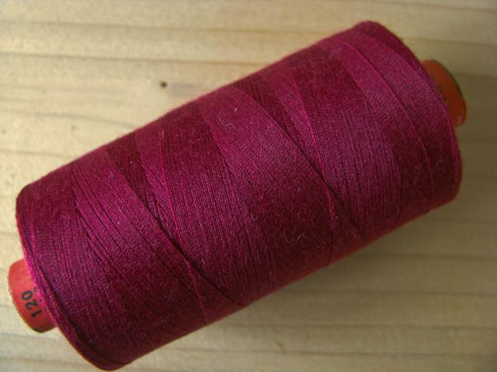 1 Spule AMANN rasant Nähgarn in d.burgund Fb0109