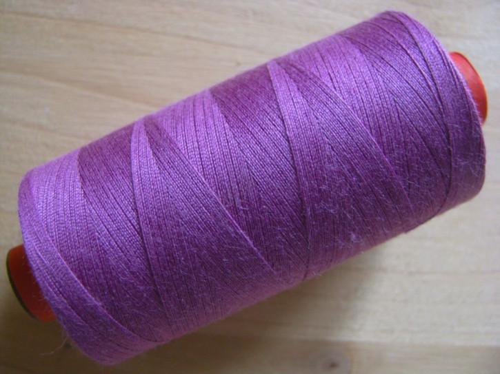 1 Spule AMANN rasant Nähgarn in kräftiges zyklame/rot-violett Fb0575