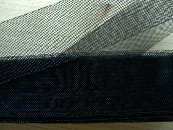 10m Crinoline - Versteifungsband in schwarz Fb4000