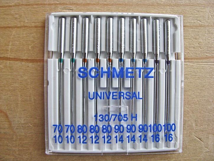 1 Pkt./10 Stk. Maschinennadeln Universal 70, 80, 90, 100
